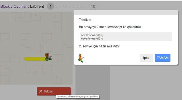 Blockly Games Kod