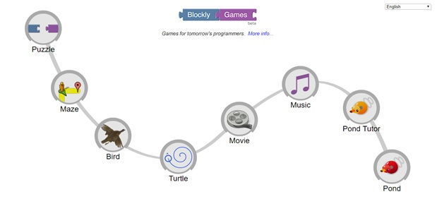 Blockly Games English