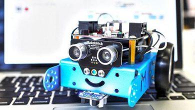 mBot Robotu Klavyeden Hareket