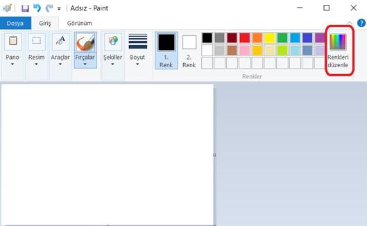 Paint Ekranı